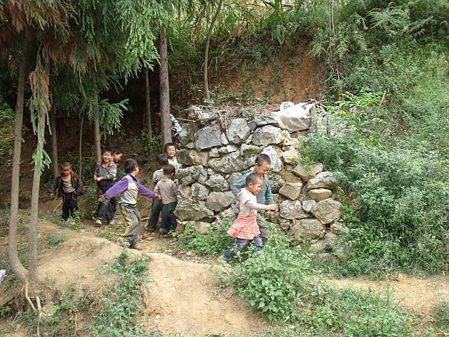 标题: 贵州省毕节大方县猫场镇大石头小学(磨房自驾捐,竣工)